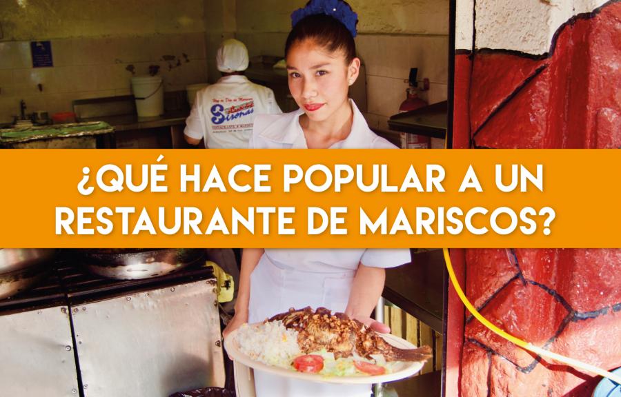 ¿Qué hace popular a un restaurante de mariscos?