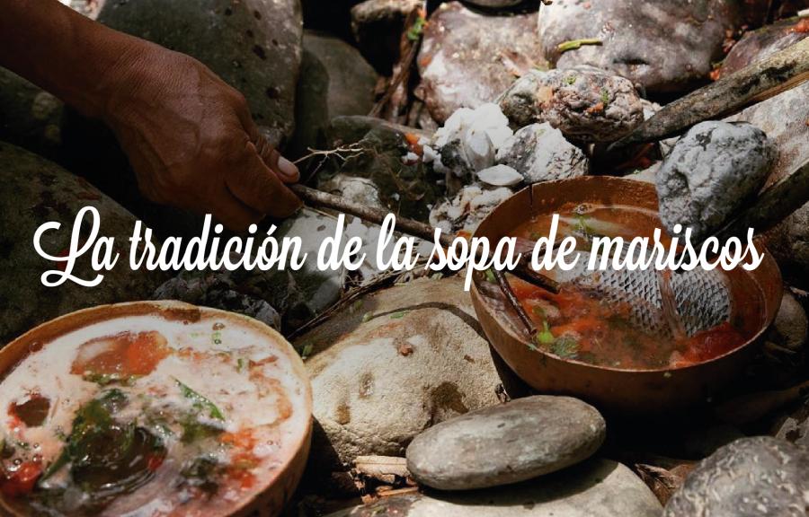 La tradición de la sopa de mariscos