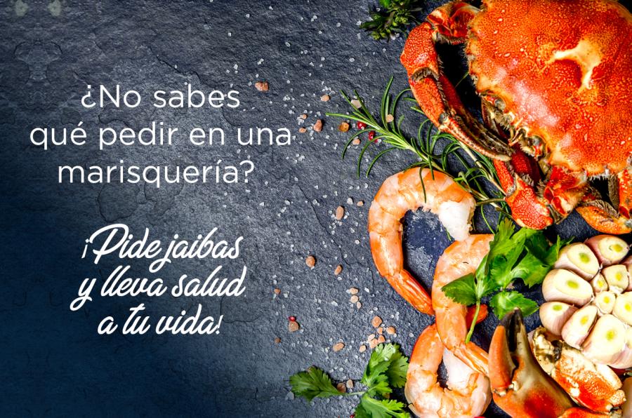 ¿No sabes qué pedir en un restaurante de mariscos?  ¡Pide jaibas!