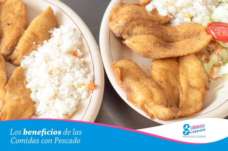 Los beneficios de las comidas con pescado
