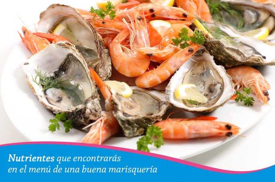 Nutrientes que encontrarás en el menú de una buena marisquería
