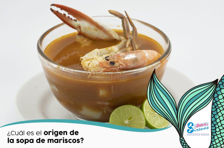 Conoce la historia de la clásica y deliciosa sopa de mariscos