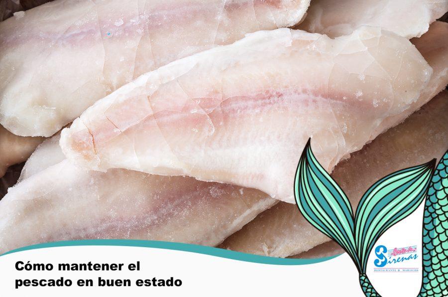 El secreto de un pescado siempre fresco