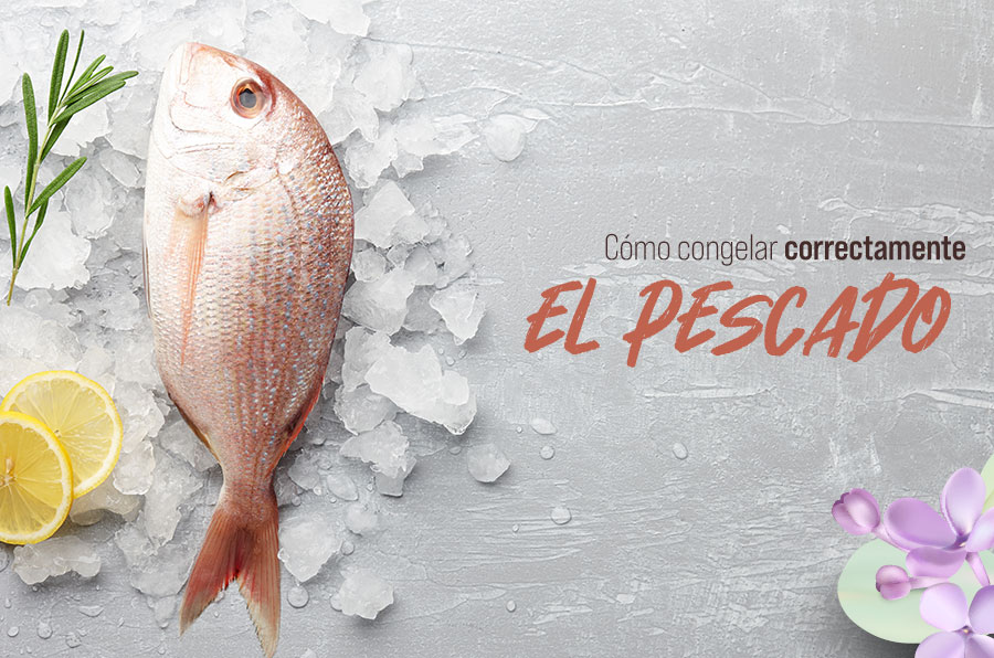 Cómo congelar correctamente el pescado