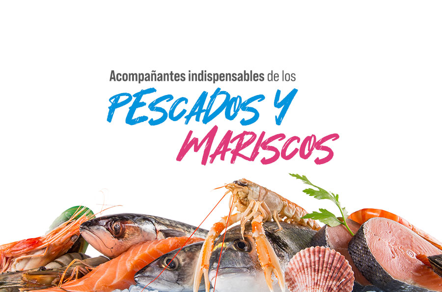 Acompañantes indispensables de los pescados y mariscos