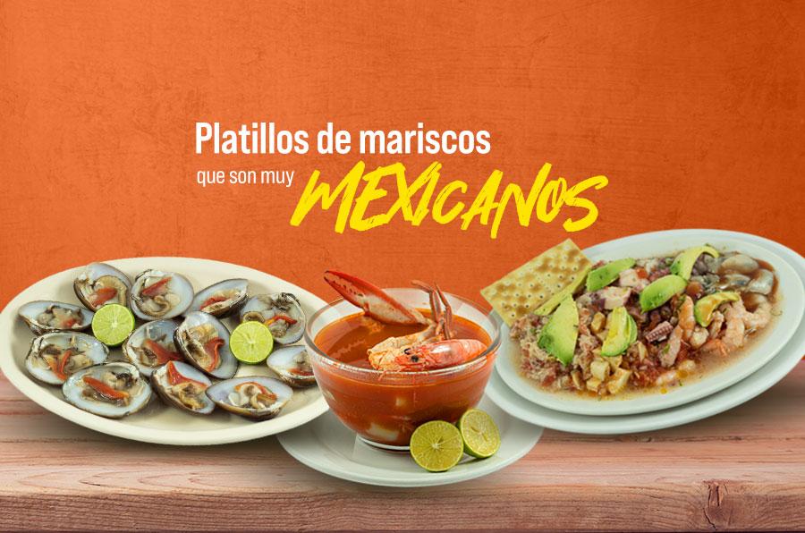 Platillos de mariscos que son muy mexicanos